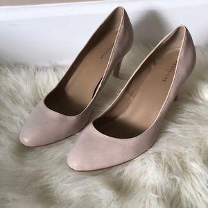 Ann Taylor blush pumps